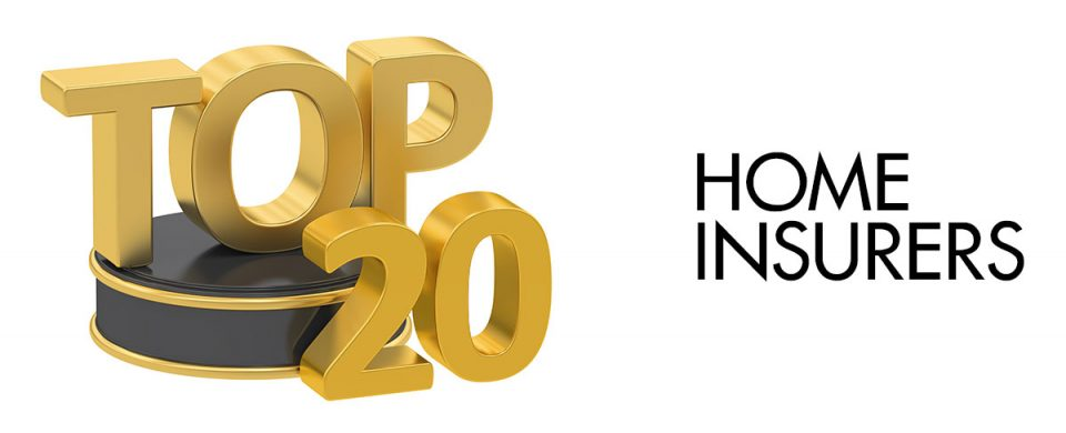 here are the best 20 home insurers