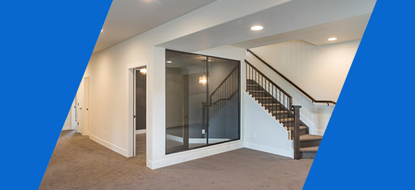There are many basement renovation ideas you can consider including your floors, stairs, and features like a wet bar or dedicated storage area.