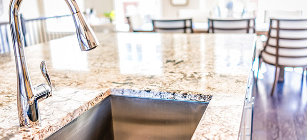 Kitchen sinks come in many different shapes and colors that increase aesthetics and function to suit any type of lifestyle.
