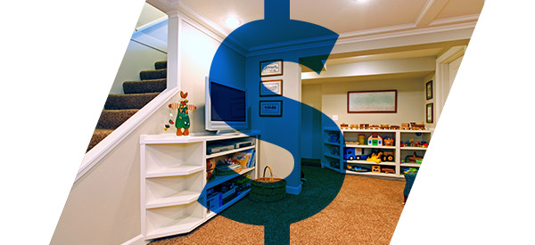 The cost of your basement renovation boils down to the finished square feet, labor cost, and choice of materials.