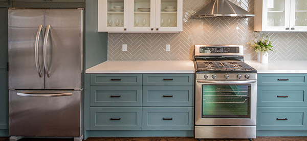 Kitchen renovation specialists can customize your kitchen appliances to maximize space.