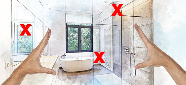 Bathroom mistakes must be avoided at all costs because they can double your costs and stress you out for years to come.