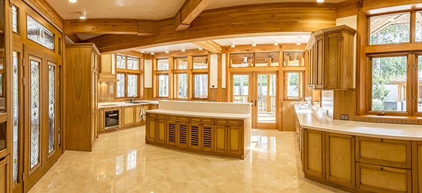 Wood in the kitchen gives homeowners a design that is timeless and nature-inspired.
