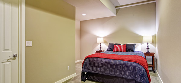 An in-law suite can be comfortable yet independent accommodations for aging relatives.