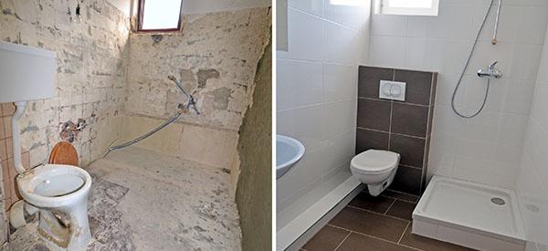 Enjoy a newly-renovated bathroom with spa-like atmosphere every time you come home.