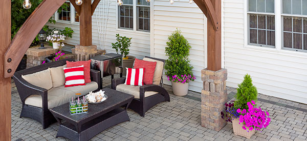 You can choose to use your patio for dining, entertaining, or as a backyard destination.