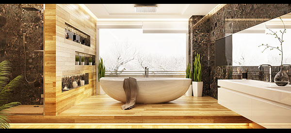 The cost of your bathroom renovation will consist of materials cost, installation costs, and general labor costs.