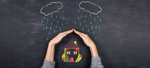 Home insurance can cover the damage caused by a disaster depending on your type of coverage.
