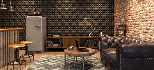 A basement bar is a fun way to enjoy the basement with a basement renovation.