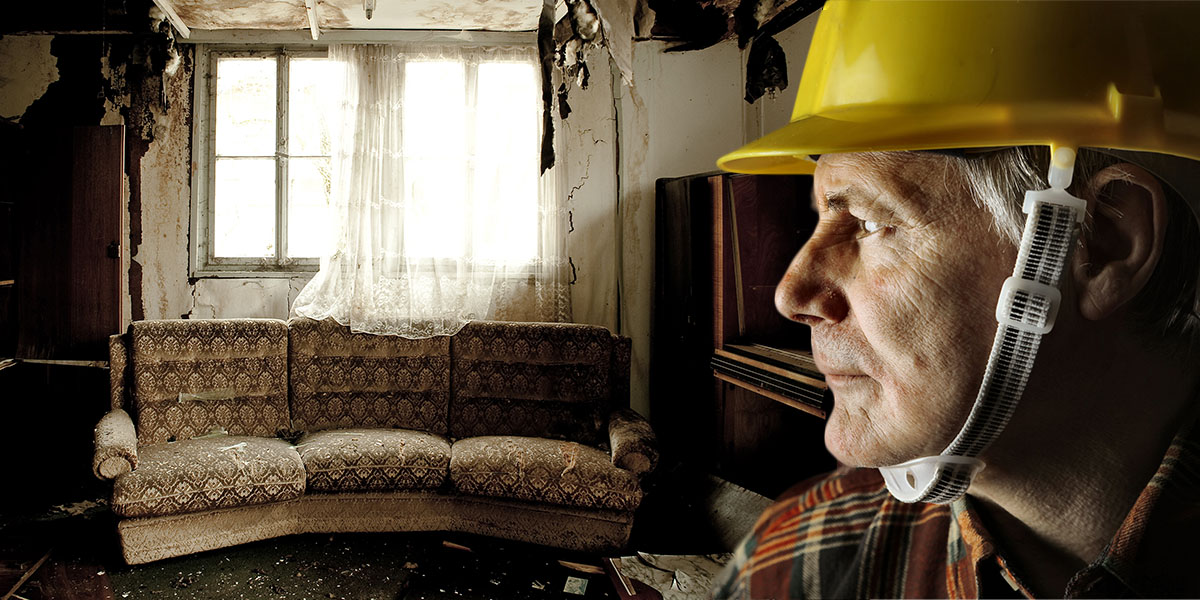 A disaster renovation company can start the clean-up and restoration of your property and your belongings after a fire or a flood.