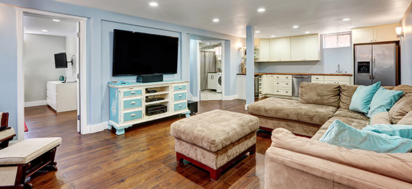 Basement renovations or finishing can improve your home and quality of life if done professionally.