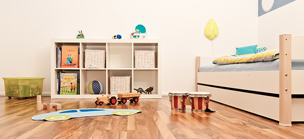 You can create a beautiful playroom for your kids where they will love to spend time indoors.