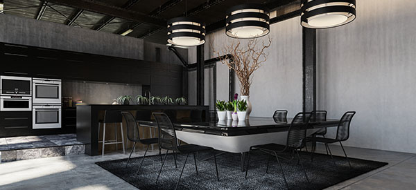 Pendant lights add charm and personality to the kitchen to make it even more attractive.