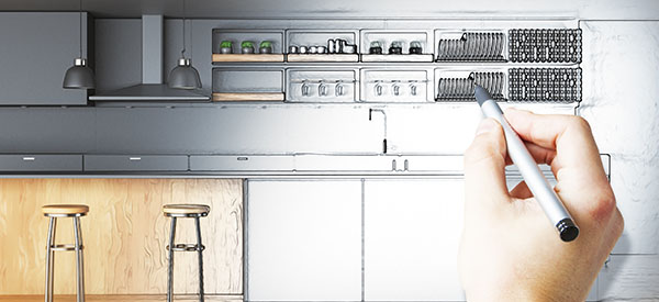 Set your budget for your kitchen renovation so you can make realistic choices with your design and materials.