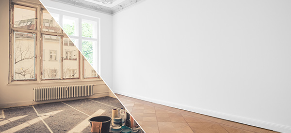 A home renovation can provide you with a more efficient home and additional living space that you can enjoy for many years.