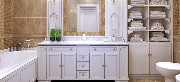 Even simple additions to a bathroom can significantly increase its appeal and function