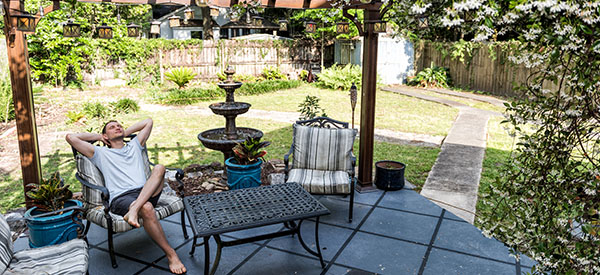 Why should you use your outdoor space with a patio?