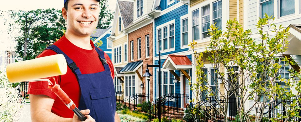 Increase the curb appeal of your property with new exterior paint from Toronto contractors.