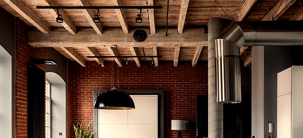 Wood ceilings are impressive and classic in style