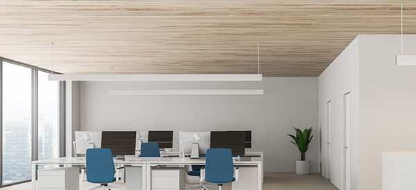 Charming ceiling beadboards can make your ceiling seem higher.