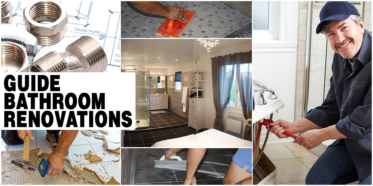 Use a practical guide to bathroom renovations to plan your project and save money.