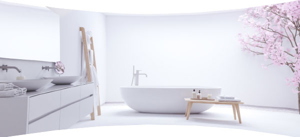You can maximize the space of a small bathroom with practical ideas that fit your budget