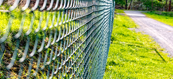 Chain link fences are popular due to affordability and ease of installation and removal.