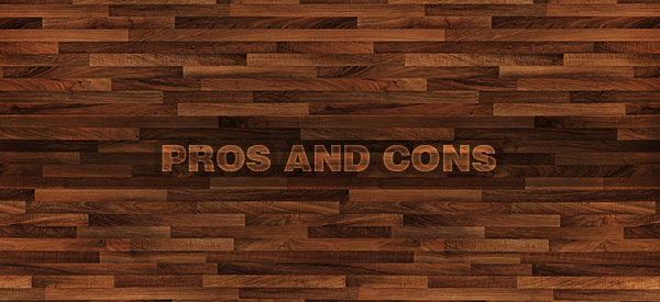 Hardwood flooring is elegant and timeless but also has its pros and cons.
