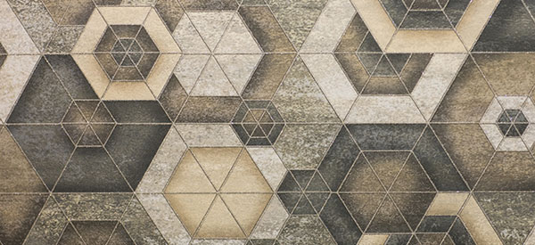 Sse graphic patterns for your floors and walls in Calgary.