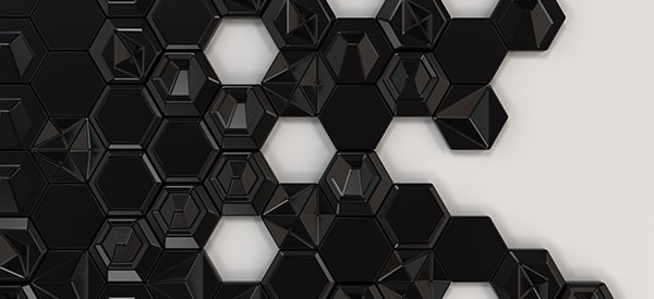 Dimensional tiles offer variety in shapes and textures you can use to design any room of your home.