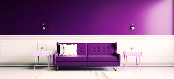 Wainscoting is used as an accent for interior walls.