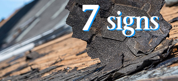 Your roof will have warning signs that you need a roof replacement.