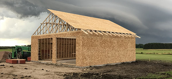A detached or attached garage also needs good framing services in Toronto.