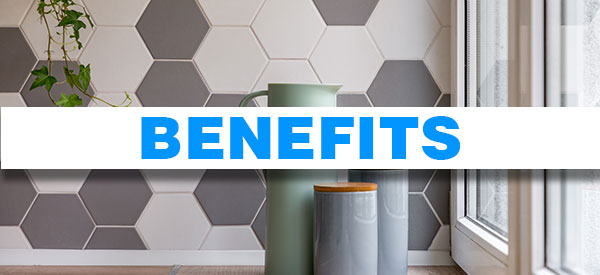 Tiles have versatile applications that can make your home renovation project a complete success.