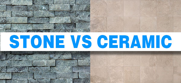 Natural stone vs. ceramic tiles is one of the most common dilemmas faced by homeowners when renovating their homes.