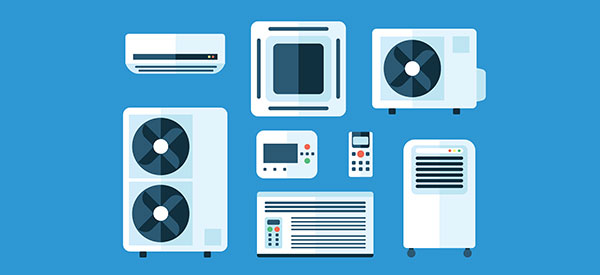 There are various types of air conditioners to choose from for best cooling efficiency.