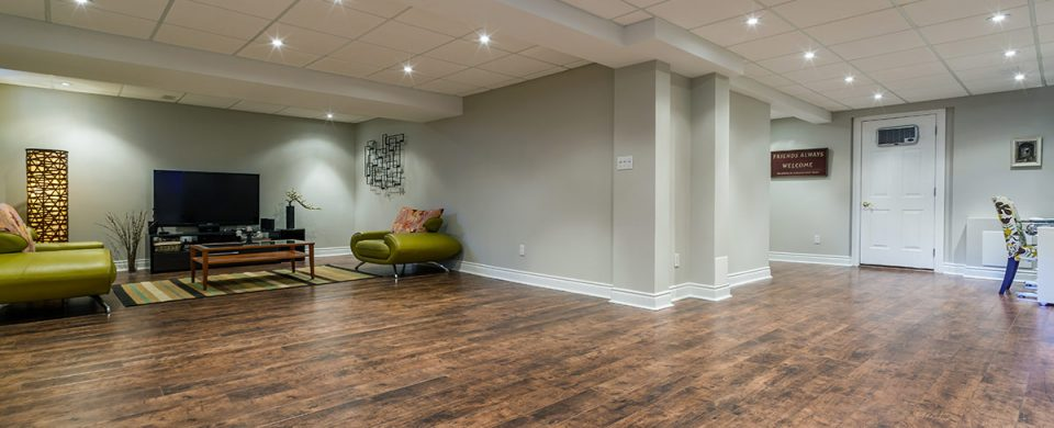 You can increase the value of your home with a basement renovation.