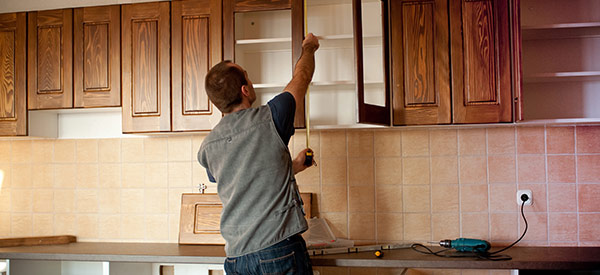 Renovate kitchen cabinets at a fraction of the cost with refacing