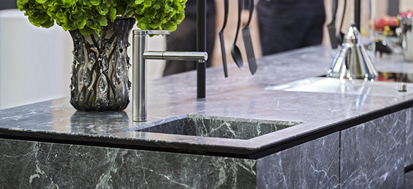 Choose the marble slab for your countertop carefully or consult professionals for the best results.