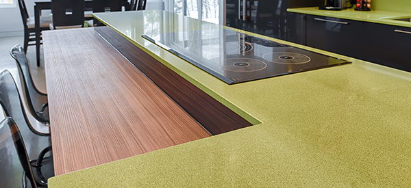 Quartz countertops are durable and add value to your home