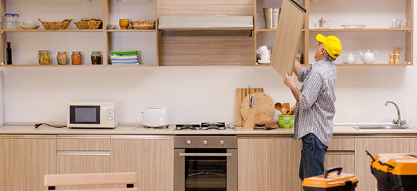 Assemble a team of qualified professionals to complete your kitchen renovation successfully.