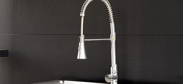 Go fashionable with your plumbing to revitalize your kitchen's look.