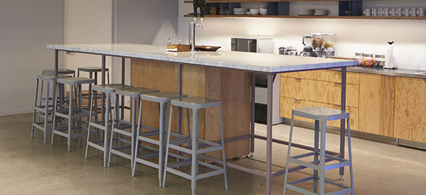 Add some drama to your kitchen space with attractive bar stools.