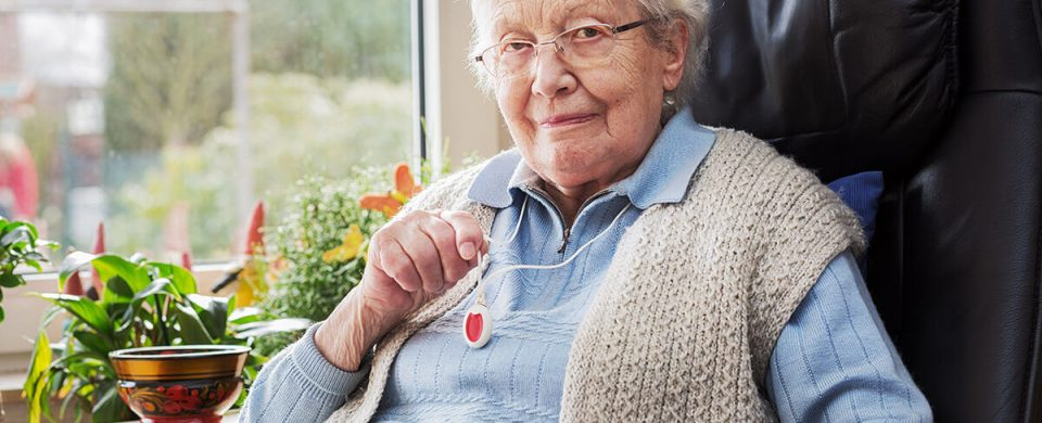 Panic buttons provide non-stop access to emergency assistance for seniors.