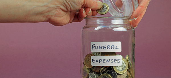 Insurance for funeral and burial expenses.
