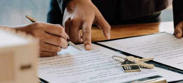 Lawyers-verify-terms-and-conditions-of-an-offer-to-purchase