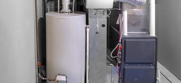Modern-furnace-with-water-heater-for-residential-use